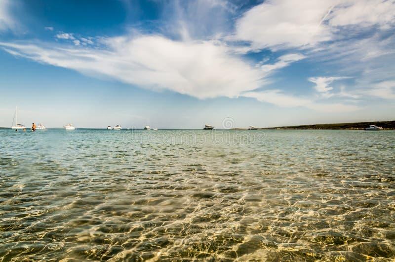 θάλασσα σύννεφων στοκ εικόνες