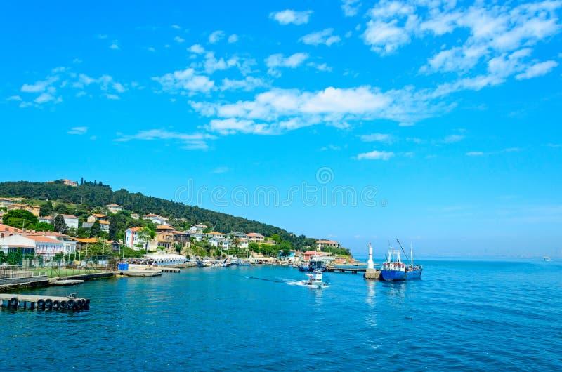 Θάλασσα της Τουρκίας, η Marmara. στοκ φωτογραφία με δικαίωμα ελεύθερης χρήσης