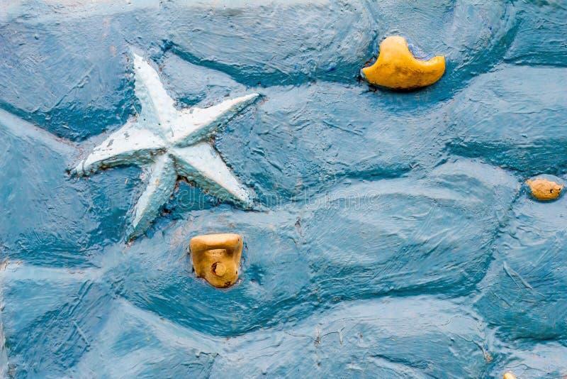 Θάλασσα τουβλότοιχος στοκ εικόνα με δικαίωμα ελεύθερης χρήσης