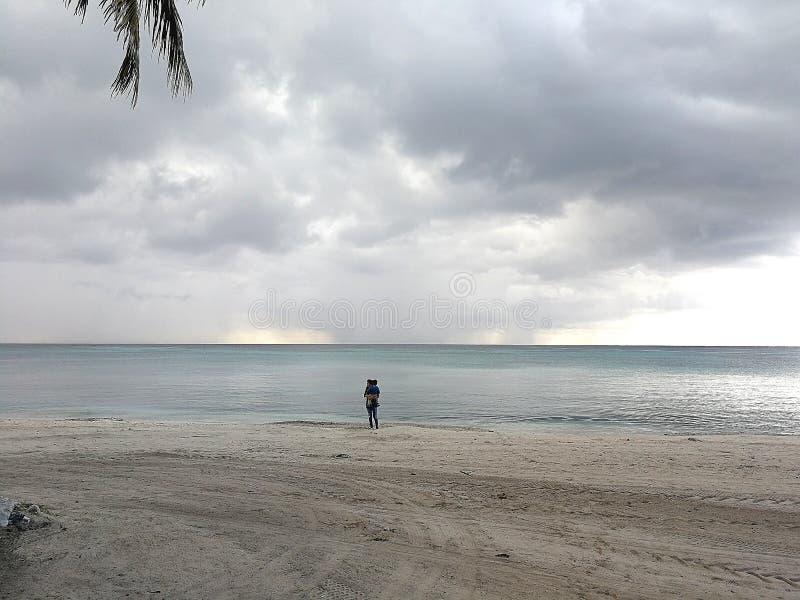Θάλασσα Caribi στοκ φωτογραφίες με δικαίωμα ελεύθερης χρήσης