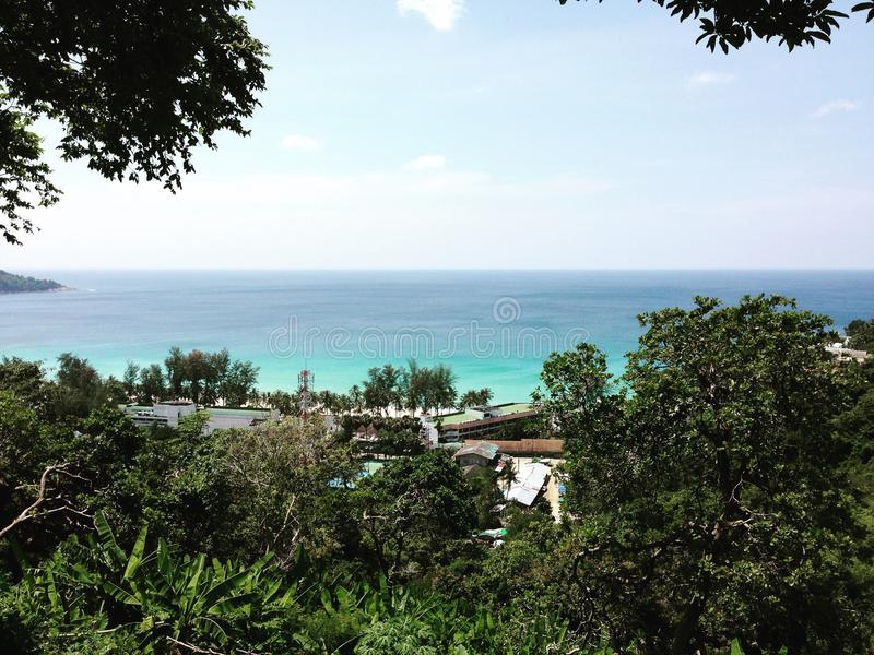Θάλασσα Phuket στοκ εικόνες με δικαίωμα ελεύθερης χρήσης
