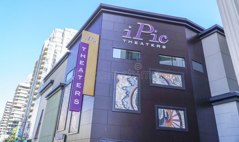 Θέατρα IPic στο Λος Άντζελες - το ΛΟΣ ΑΝΤΖΕΛΕΣ - ΚΑΛΙΦΟΡΝΙΑ - 20 Απριλίου 2017 στοκ εικόνες με δικαίωμα ελεύθερης χρήσης