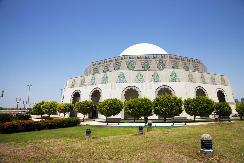 θέατρο Ε.Α.Ε. του Αμπού Ντα στοκ φωτογραφία