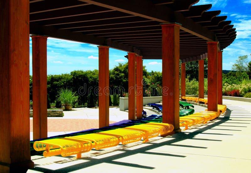 θέατρο κήπων στοκ εικόνα με δικαίωμα ελεύθερης χρήσης
