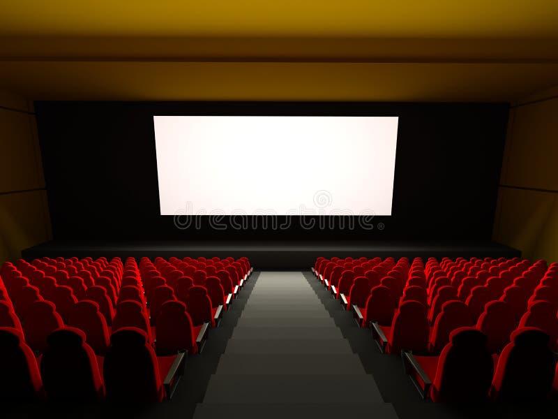 θέατρο καθισμάτων κινηματ& στοκ φωτογραφίες με δικαίωμα ελεύθερης χρήσης