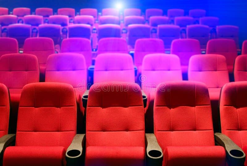 θέατρο καθισμάτων σειρών στοκ εικόνες με δικαίωμα ελεύθερης χρήσης