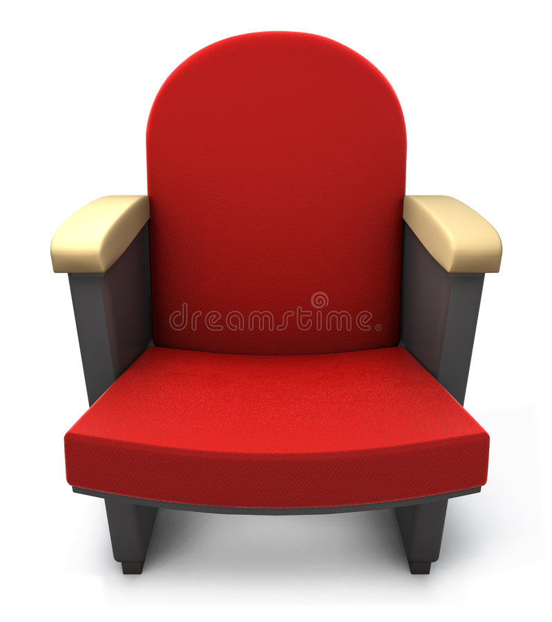 θέατρο καθισμάτων ελεύθερη απεικόνιση δικαιώματος