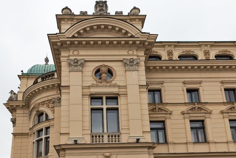 Θέατρο στην παλαιά πόλη της Κρακοβίας, Πολωνία στοκ φωτογραφία με δικαίωμα ελεύθερης χρήσης