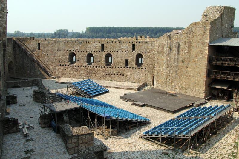 Θέατρο στο φρούριο στοκ εικόνα