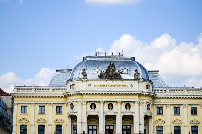 Θέατρο της Μπρατισλάβα στοκ εικόνες