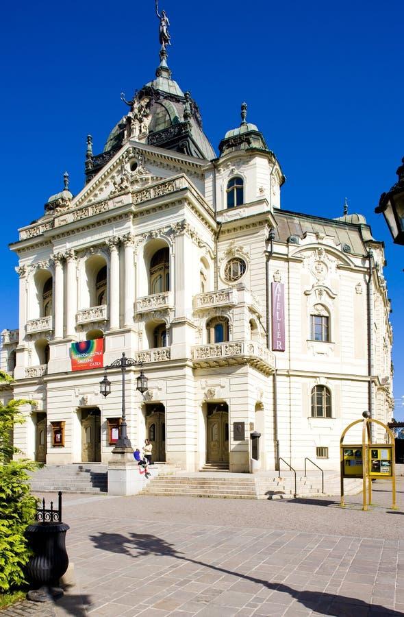 Θέατρο του J Borodac, Kosice, Σλοβακία στοκ φωτογραφίες