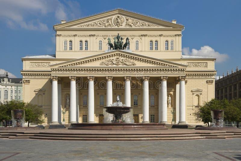 Θέατρο Bolshoi, Μόσχα, Ρωσία στοκ φωτογραφία με δικαίωμα ελεύθερης χρήσης