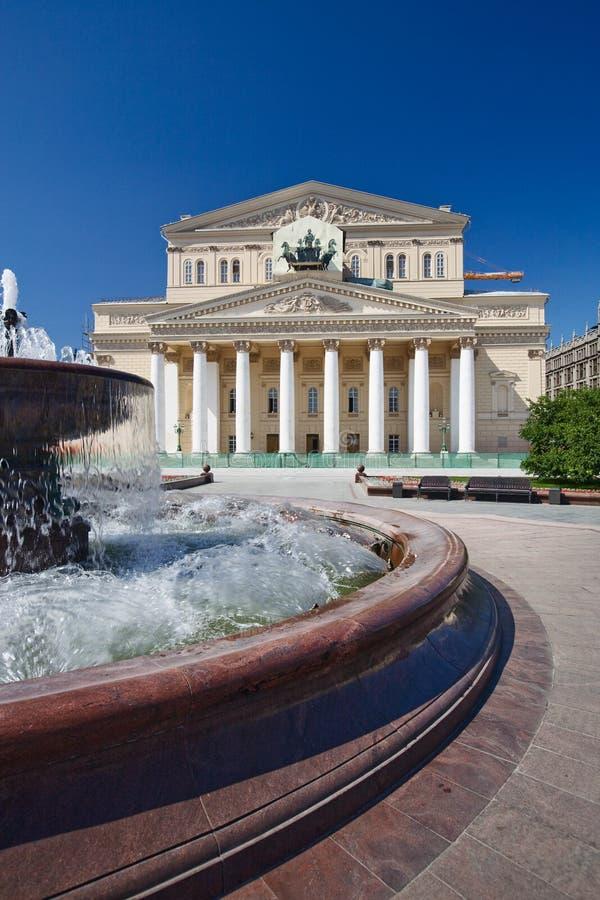 θέατρο bolshoi στοκ εικόνα