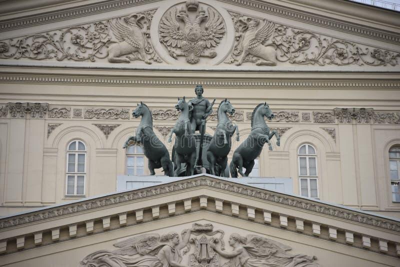 Θέατρο Bolshoi στοκ φωτογραφίες