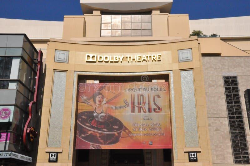 Θέατρο Dolby (θέατρο της Kodak) σε Καλιφόρνια στοκ εικόνες με δικαίωμα ελεύθερης χρήσης