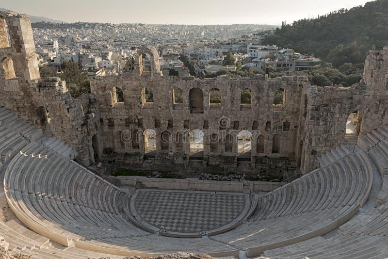 Θέατρο Herodes Atticus στοκ φωτογραφίες
