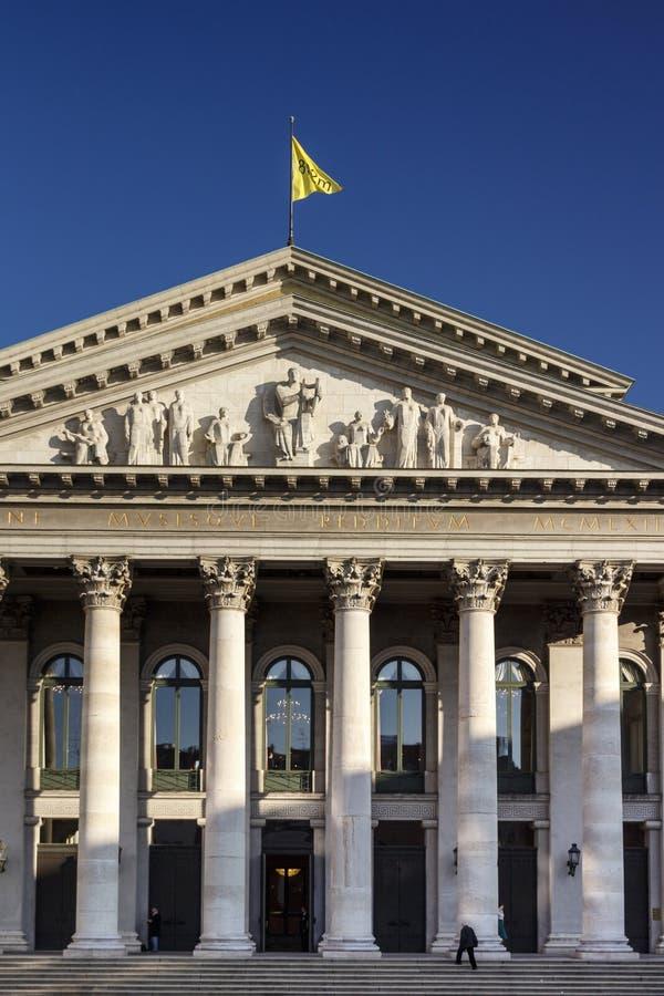 Θέατρο Residenz στο Μόναχο, Γερμανία, 2015 στοκ εικόνες
