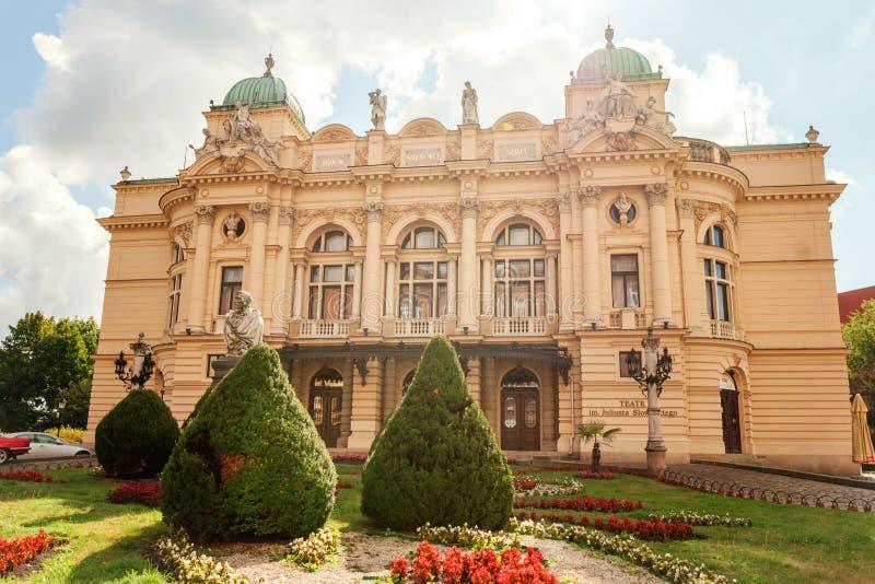 Θέατρο Slowacki Juliusz στοκ φωτογραφία με δικαίωμα ελεύθερης χρήσης