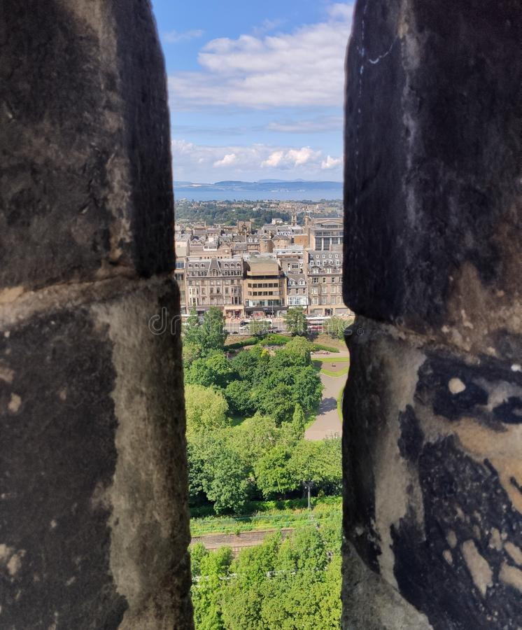 Θέα από το κάστρο του Εδιμβούργου