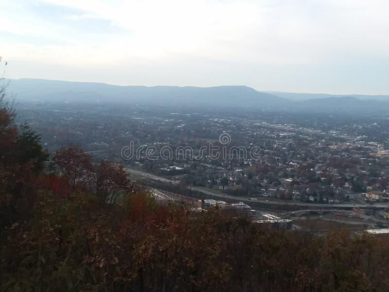 Θέα βουνού στη Βιρτζίνια στοκ εικόνες