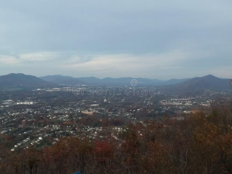 Θέα βουνού στη Βιρτζίνια στοκ φωτογραφίες