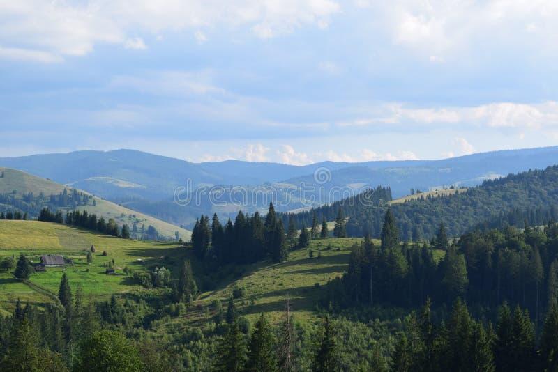 Θέα βουνού στοκ φωτογραφία με δικαίωμα ελεύθερης χρήσης