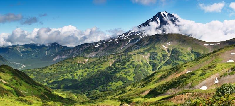 θέα βουνού στοκ εικόνες