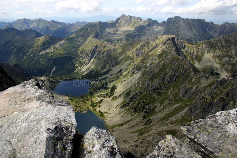 θέα βουνού στοκ εικόνες με δικαίωμα ελεύθερης χρήσης