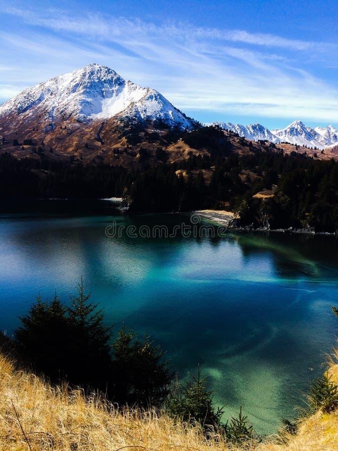 Θέα βουνού στοκ εικόνα με δικαίωμα ελεύθερης χρήσης