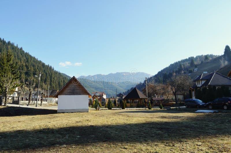 Θέα βουνού στοκ φωτογραφία