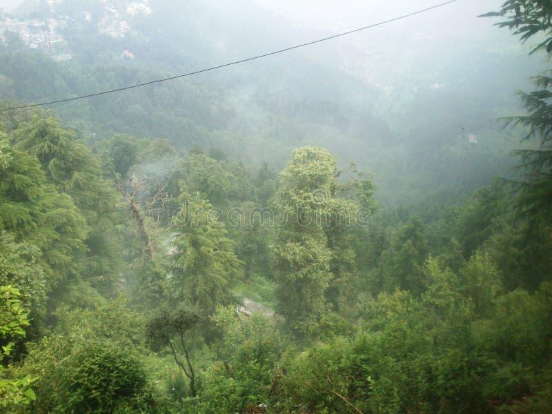 Θέα βουνού Manali στοκ φωτογραφία με δικαίωμα ελεύθερης χρήσης