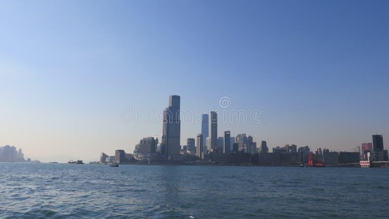 Θέα στο Cityscape από το Χονγκ Κονγκ στοκ φωτογραφίες