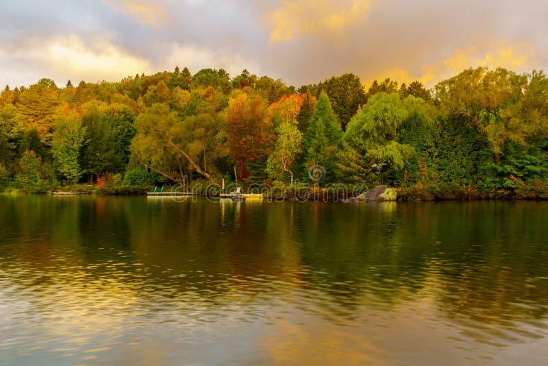 Θέα του Lac Rond στοκ εικόνα