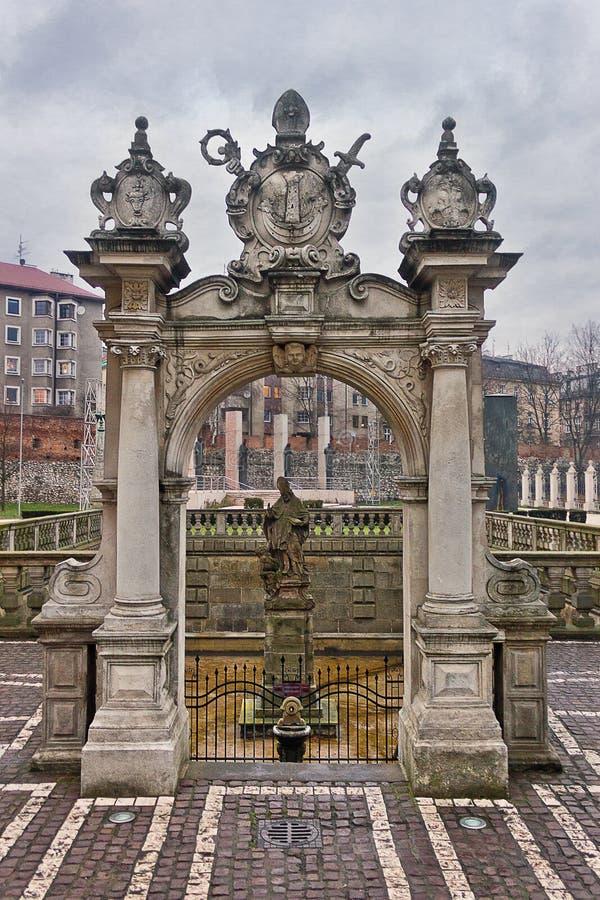 Θέες της Κρακοβίας, Πολωνία στοκ φωτογραφίες