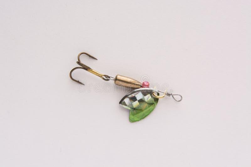 Θέλγητρο αλιείας, κουτάλι δολώματος στοκ εικόνα με δικαίωμα ελεύθερης χρήσης