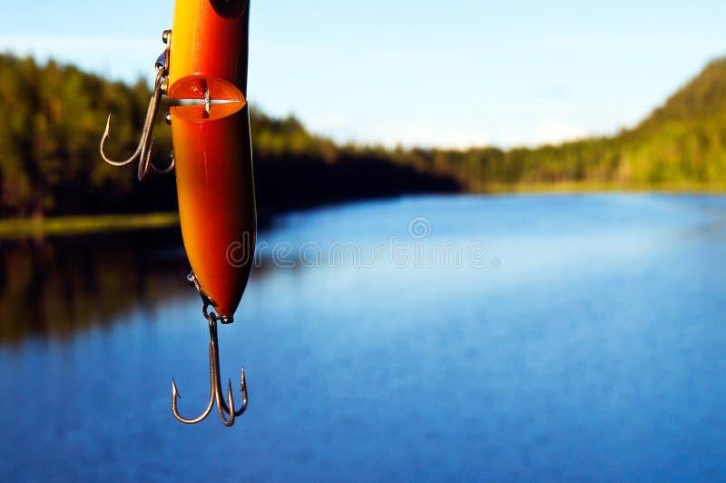 θέλγητρο αλιείας στοκ εικόνα