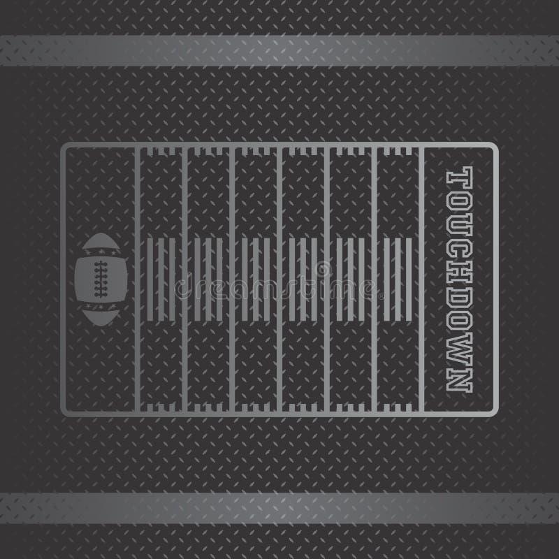 Download Θέμα αμερικανικού ποδοσφαίρου Διανυσματική απεικόνιση - εικονογραφία από grunge, ισχύς: 62710166