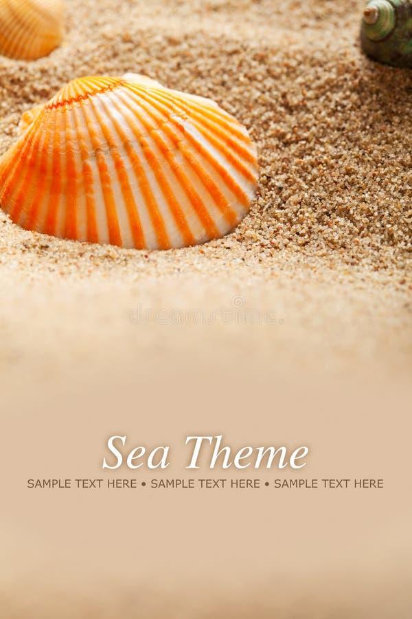 θέμα θάλασσας στοκ εικόνες