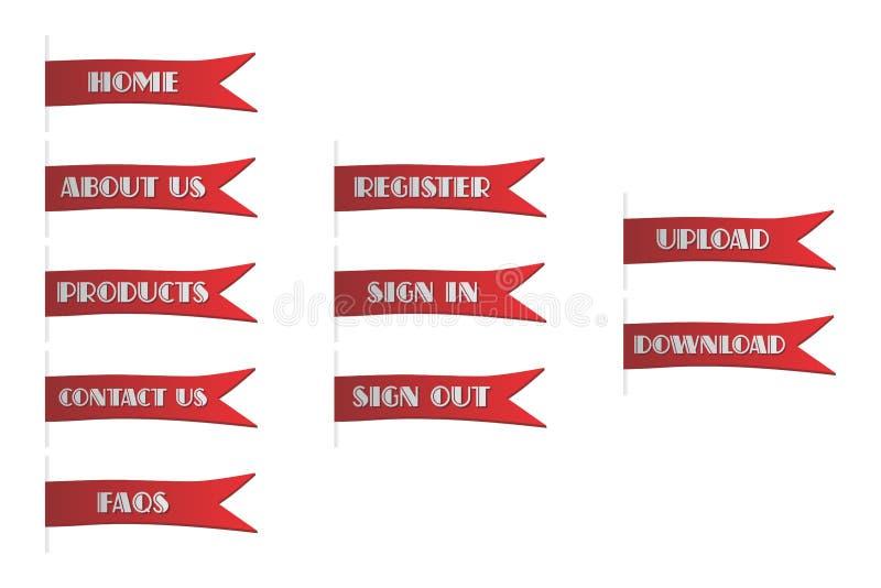 Download Θέμα κουμπιών εικονιδίων διανυσματική απεικόνιση. εικονογραφία από αίτησης - 62713571