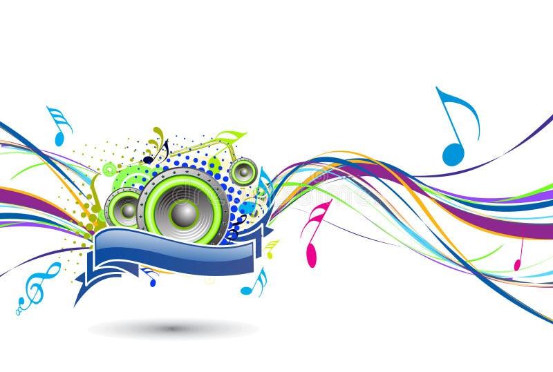 θέμα μουσικής διανυσματική απεικόνιση