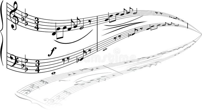 θέμα μουσικής απεικόνιση αποθεμάτων