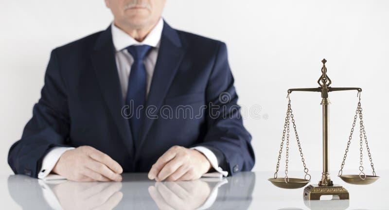 Θέμα νόμου και δικαιοσύνης Γραφείο νομικού συμβούλου Θέση για την τυπογραφία στοκ εικόνα με δικαίωμα ελεύθερης χρήσης