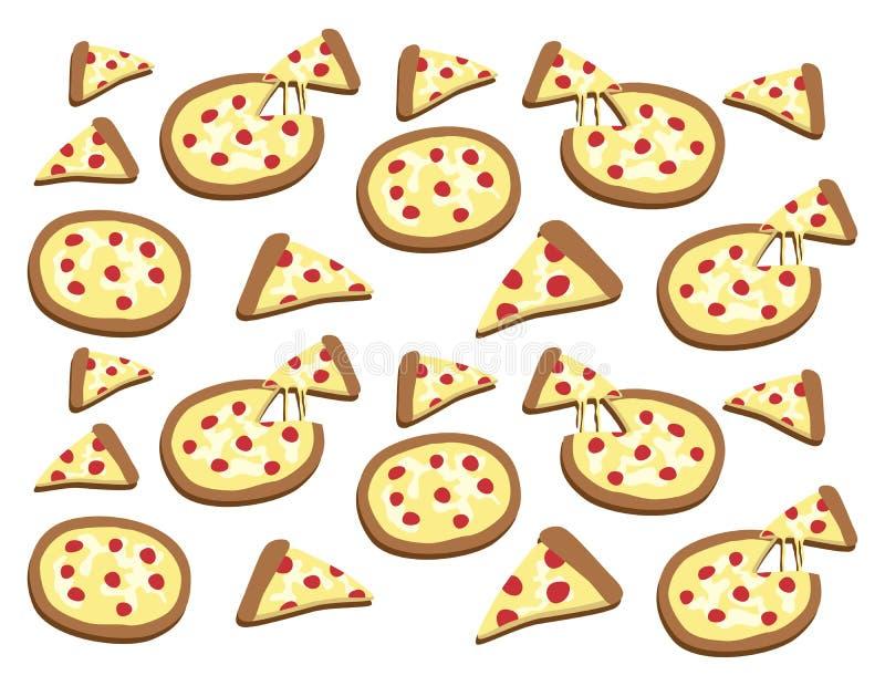 Download Θέμα τροφίμων και ποτών απεικόνιση αποθεμάτων. εικονογραφία από πίτσα - 62711656