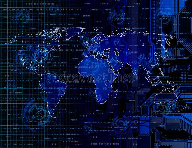 θέμα technlogy ανασκόπησης ελεύθερη απεικόνιση δικαιώματος