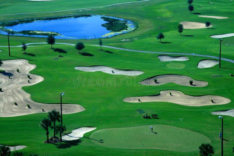 θέρετρο γκολφ σειράς μα&th στοκ φωτογραφία με δικαίωμα ελεύθερης χρήσης