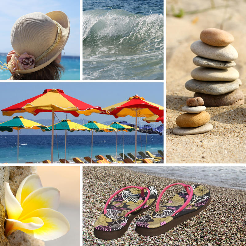 Download θέρετρο κολάζ στοκ εικόνες. εικόνα από lifestyles, πέτρες - 13188454