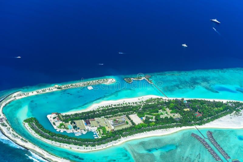 θέρετρο νησιών τροπικό στοκ εικόνα