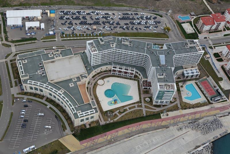 Θέρετρο παραδείσου Radisson Blu ξενοδοχείων & SPA στοκ εικόνες