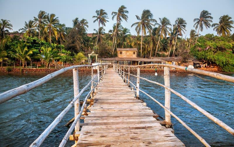 Θέρετρο σε Goa στοκ εικόνες