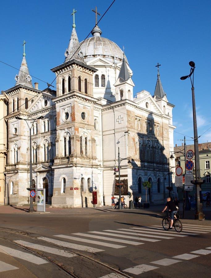 θέρετρο σημαδιών makarska της Κροατίας εκκλησιών sts πνεύμα στοκ φωτογραφία με δικαίωμα ελεύθερης χρήσης